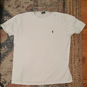 Ralph Lauren Polo Short Sleeve Shirt White Sz M